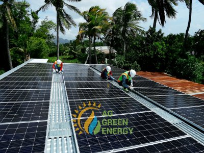 Quy trình đấu nối điện mặt trời mái nhà