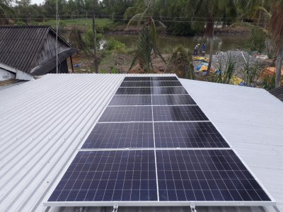 The Rooftop Solar Power Project For Grid-Connected Storage in An Bien (S190274KST)