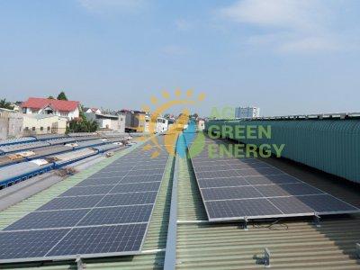 Dự án điện NLMT áp mái Nhà máy Toa xe lửa Dĩ An -  Thành phố Dĩ An, tỉnh Bình Dương S20274NT